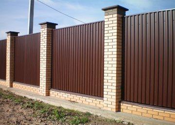 Монтаж заборов и оград