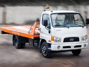 Эвакуатор Hyundai hd 78