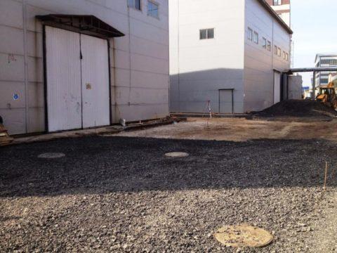 Территория завода 1700 м²