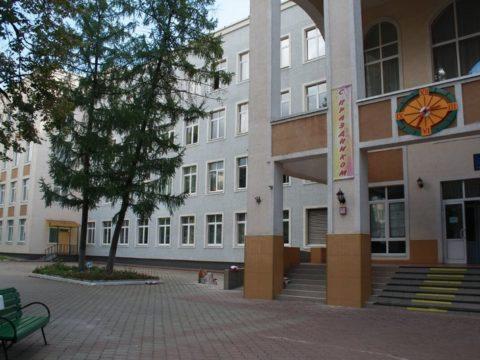 Территория школы. 5700 м²