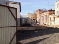 Территория промышленного здания