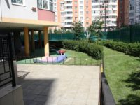 Территория детского сада