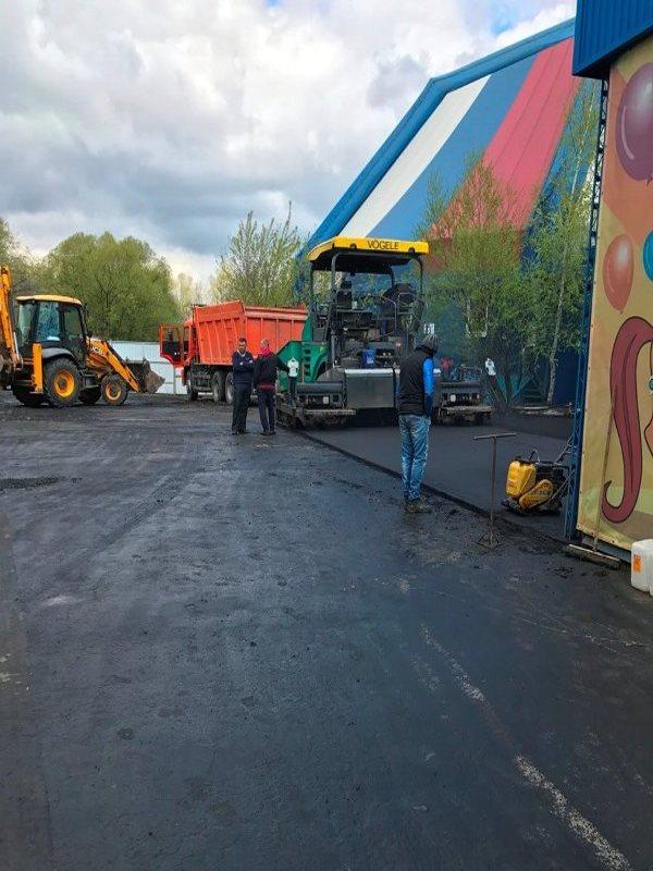 Территория цирка