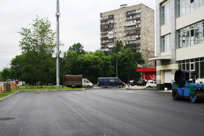 Территория торгового центра